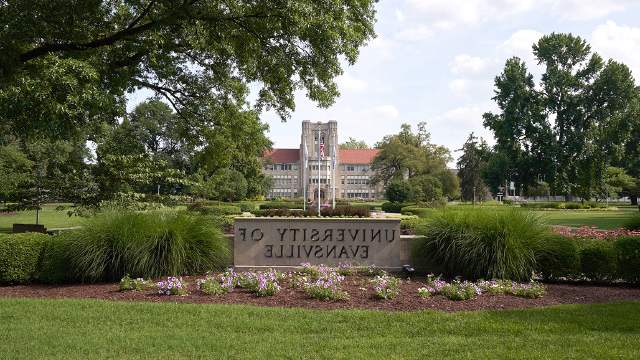 Front of the UE campus